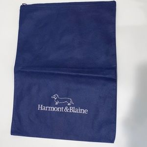 Harmont and Blaine dust bag